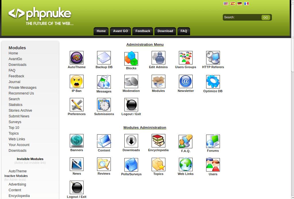 Скачать движок для сайта php nuke топ 10 сайтов автосервинга