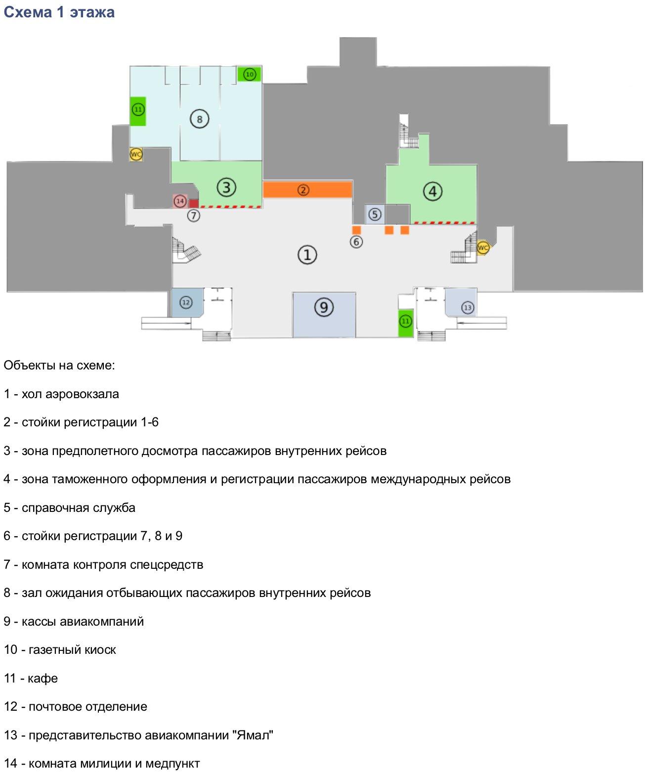 Аэропорт Рощино в г. Тюмень - адрес, схема проезда 988